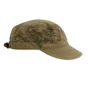 Levi's Eagle Graphic Adjustable Cadet Cap Hat OS